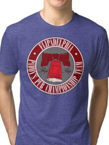 It's Always Sunny: Flipadelphia Shirt, Red Tri-blend T-Shirt