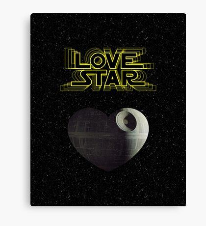 Star Wars 2 Canvas Print