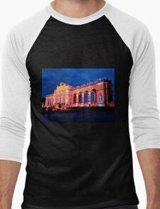 The Gloriette, at Schonbrunn Palace, Vienna Men's Baseball ¾ T-Shirt