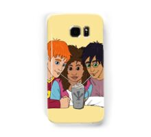 The Golden Trio share a hot cocoa Samsung Galaxy Case/Skin