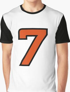 Sport Number 7 Seven Graphic T-Shirt