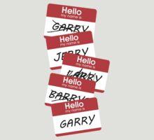Parks and Rec: Jerry, Garry, Barry... Shirt by Wellshirt