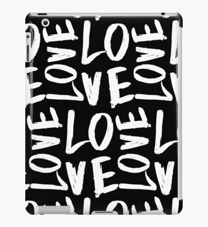Love in Black&White iPad Case/Skin