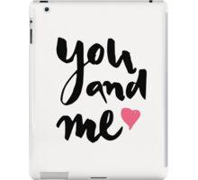 You and Me iPad Case/Skin