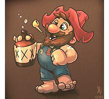 0021 - Super Mario Moonshine Photographic Print