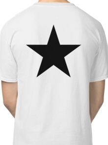 BLACK Star, Dark Star, Black Hole, Stellar, Achievement, Cool, Classic T-Shirt