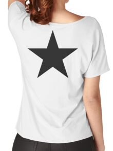 BLACK Star, Dark Star, Black Hole, Stellar, Achievement, Cool, Women's Relaxed Fit T-Shirt