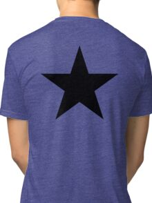 BLACK Star, Dark Star, Black Hole, Stellar, Achievement, Cool, Tri-blend T-Shirt