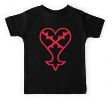 Heartless Logo (Red) - Kingdom Hearts Kids Tee