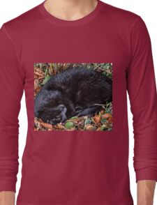 Guess who l found under the Hedgerow.. Long Sleeve T-Shirt