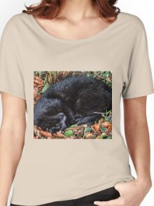 Guess who l found under the Hedgerow.. Women's Relaxed Fit T-Shirt