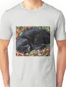 Guess who l found under the Hedgerow.. Unisex T-Shirt