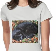 Guess who l found under the Hedgerow.. Womens Fitted T-Shirt
