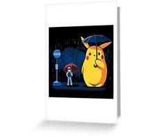 My Neighbour Pikachu Greeting Card