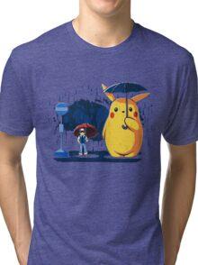 My Neighbour Pikachu Tri-blend T-Shirt