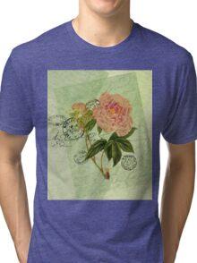 Decoupage 4 Tri-blend T-Shirt