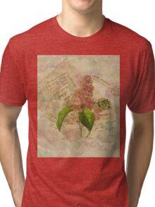 Decoupage 3 Tri-blend T-Shirt