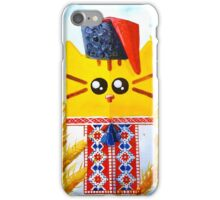Ukrainian cat iPhone Case/Skin