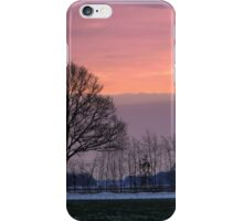 Sunset in Winter iPhone Case/Skin