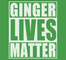 Ginger Lives Matter One Piece - Short Sleeve
