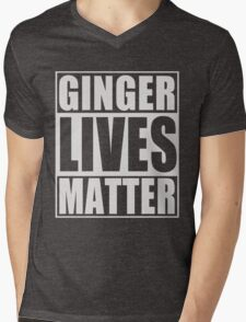 Ginger Lives Matter Mens V-Neck T-Shirt