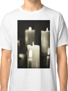 close up of candles Classic T-Shirt