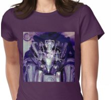 Cyberman Womens Fitted T-Shirt