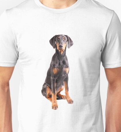 beautiful doberman pinscher Unisex T-Shirt