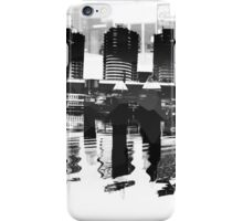 Docklands Melbourne B&W iPhone Case/Skin