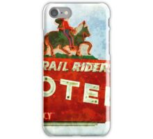 Trail Riders Motel Neon Sign  iPhone Case/Skin