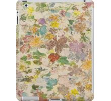 Pressed flower iPad Case/Skin