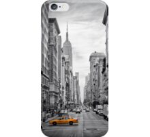 5th NYC Avenue Yellow Cab iPhone Case/Skin