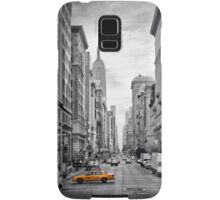 5th NYC Avenue Yellow Cab Samsung Galaxy Case/Skin