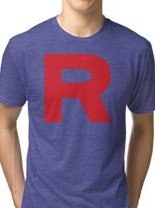 Team Rocket Logo Tri-blend T-Shirt