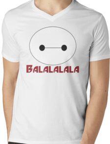 Fist Bump cute cartoon Mens V-Neck T-Shirt