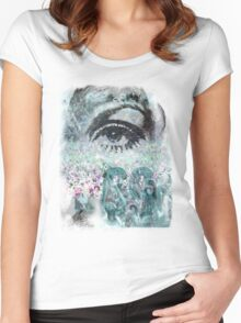 Indie Summertime Women's Fitted Scoop T-Shirt