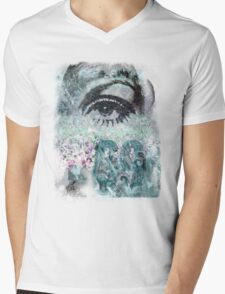 Indie Summertime Mens V-Neck T-Shirt