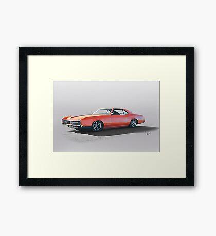 1966 Buick 'Custom' Riveria Framed Print