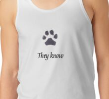 Skyrim Spin-off for Animal Lovers Tank Top