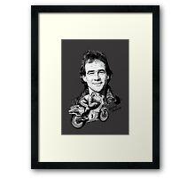 Barry Sheene Motorbike Legend Framed Print
