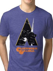 A Clockwork Orange (Airbrushed) Tri-blend T-Shirt