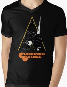 A Clockwork Orange (Airbrushed) Mens V-Neck T-Shirt