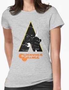 A Clockwork Orange (Airbrushed) Womens Fitted T-Shirt