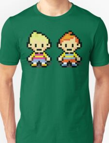 Lucas and Claus - Mother 3 T-Shirt