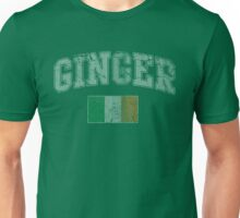 Vintage Ginger Flag of Ireland Unisex T-Shirt