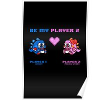 Be My Player 2 - Variant A - Bob and Pab Poster