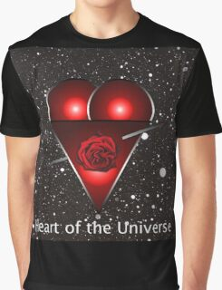 Heart of the Universe Graphic T-Shirt
