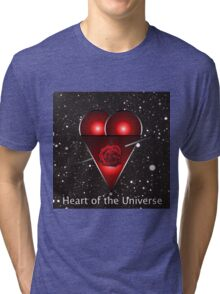 Heart of the Universe Tri-blend T-Shirt
