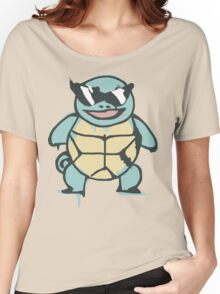 Ash's Squirtle (Squirtle Squad Leader) Women's Relaxed Fit T-Shirt