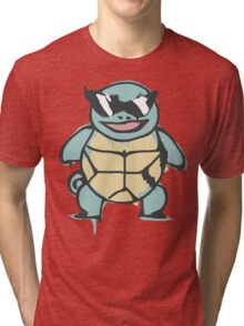 Ash's Squirtle (Squirtle Squad Leader) Tri-blend T-Shirt